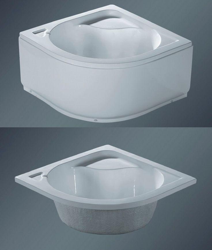 Bath Factory Model Shower-012 Deep Shower Tray 90x90x50 cm. (36\