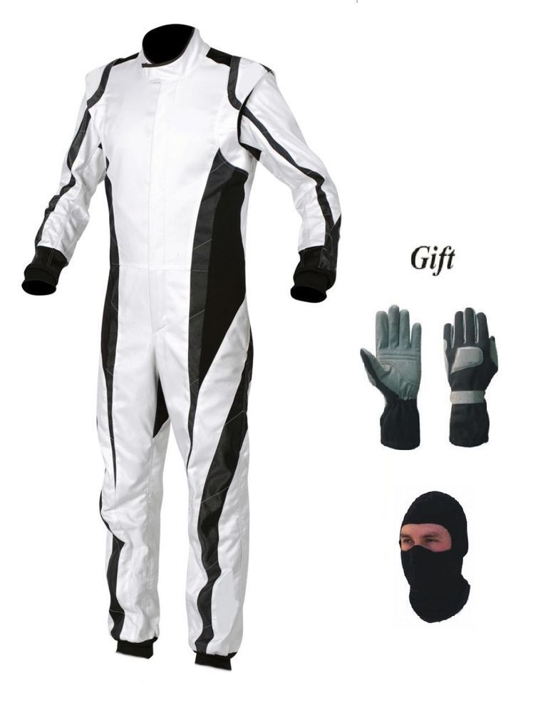 Go Kart Race Suit Pack With Free Balaclava And Gloves Handmade Racing Suit Races Outfit Suits