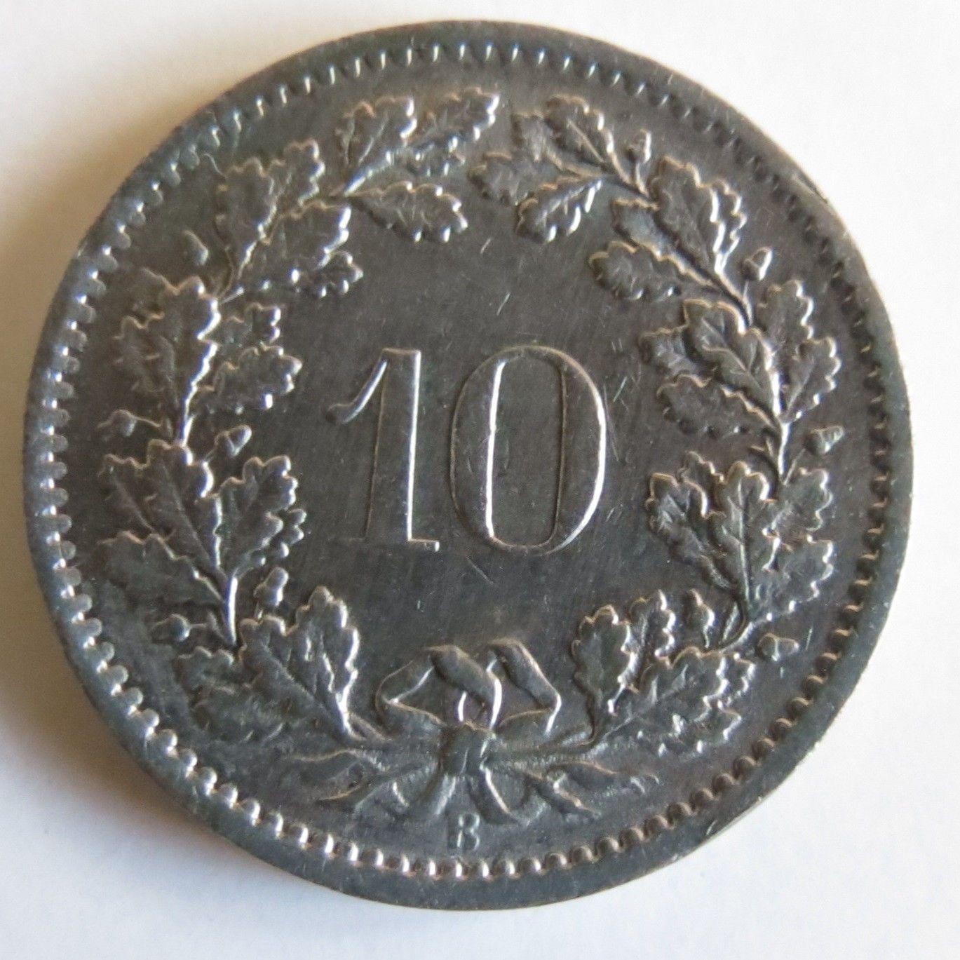 1967 Swiss 10 Rappen Coin http://www.ebay.com/sch/i.html?_trksid=p2054897.m570.l1313.TR0.TRC0.H0.X1967+&_nkw=1967+Switzerland+10+Rappen+Coin&_sacat=11116&_from=R40