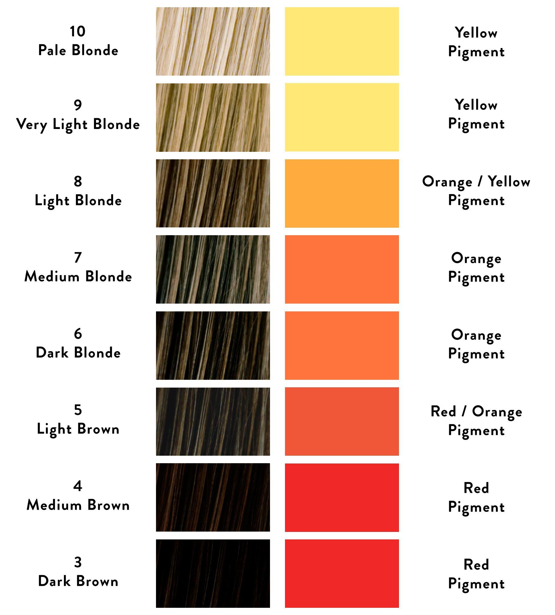 Why Is My Hair Colour Brassy And How Can I Stop It From Happening Hair Color Hair Color Wheel Color Correction Hair