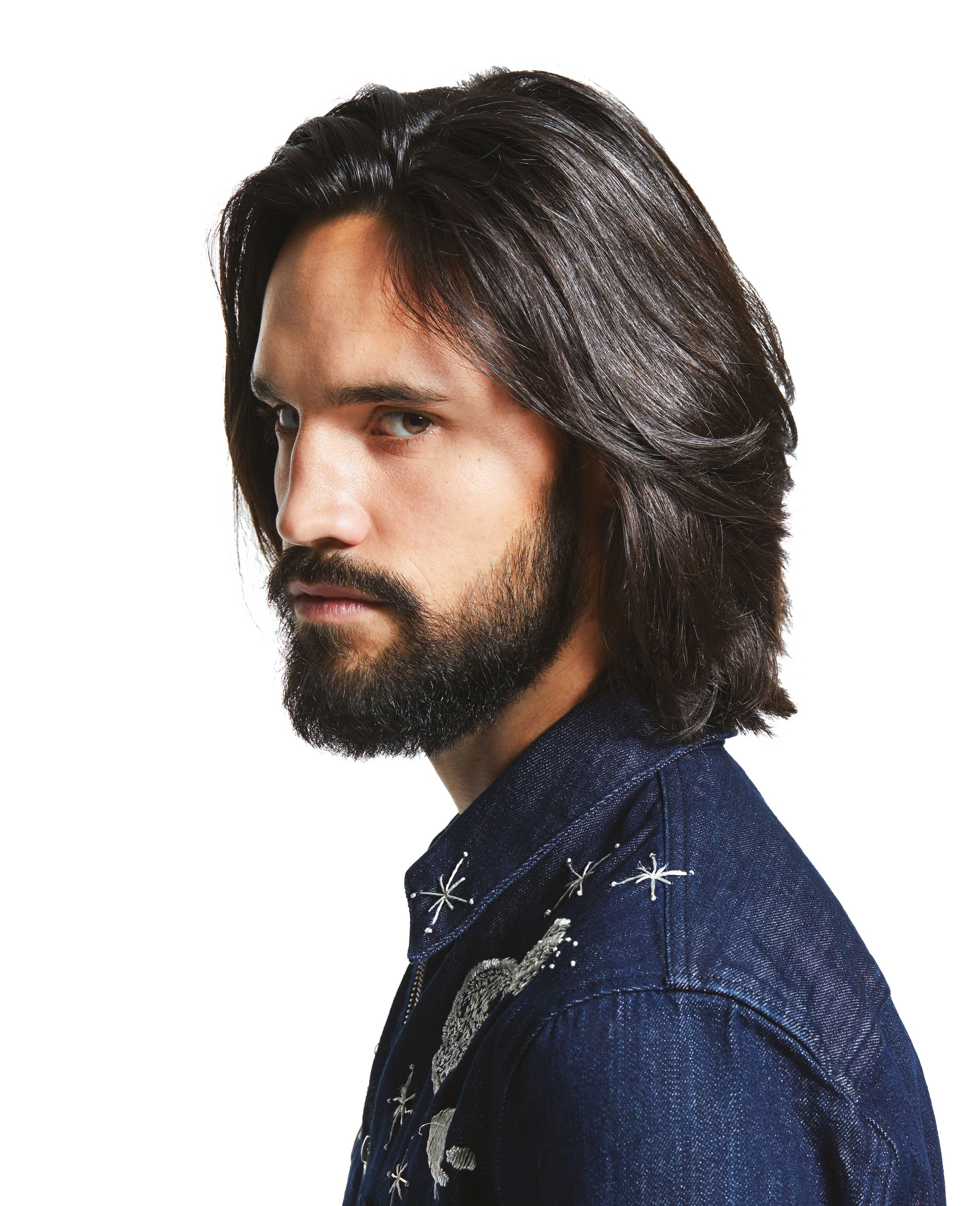Valerian Coupe Homme Cheveux Longs Coiffure Cheveux Long Homme Coupe De Cheveux Barbe Cheveux Long Homme
