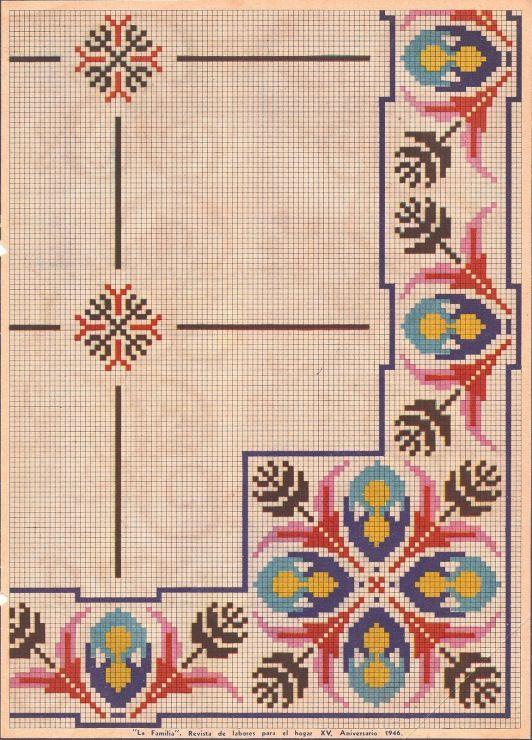 Portuguese designs - Berlin wool work http://gallery.ru | Cross ...