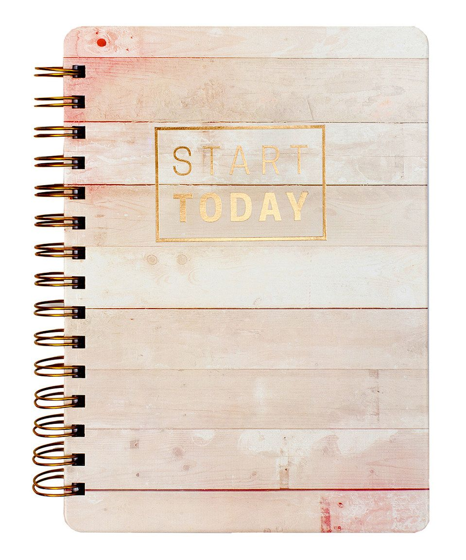 Another great find on #zulily! 'Start Today' Notebook by Heidi Swapp #zulilyfinds