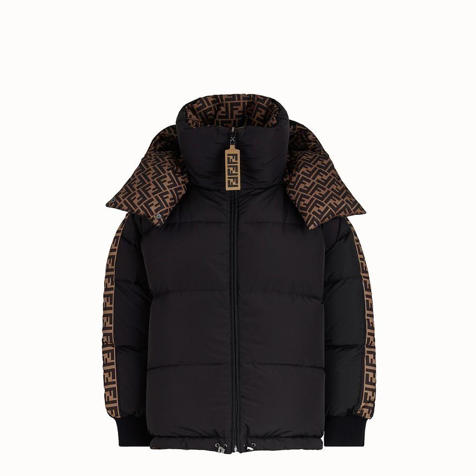 Fendi Brown Black Cr New Reversible Oversized Jacket M Coat Size 8 M Jackets Oversized Jacket Italian Outfits [ 960 x 960 Pixel ]