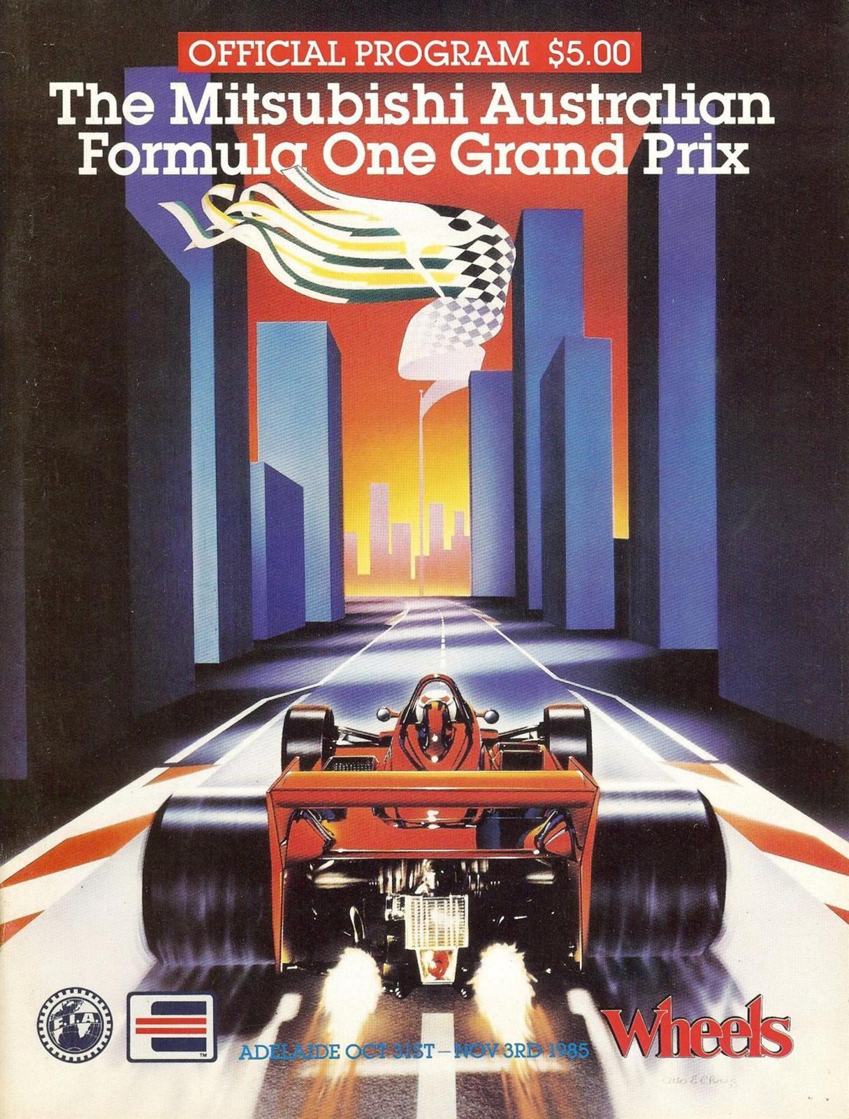 Historia del Gran Premio de Australia
