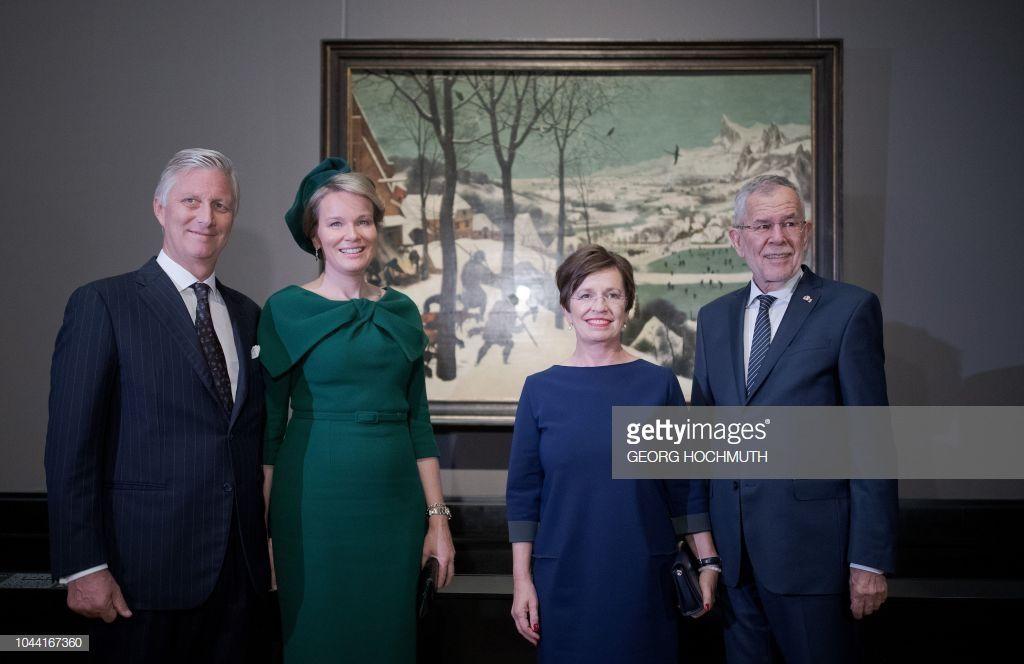 King Philippe Filip Of Belgium Queen Mathilde Of Belgium