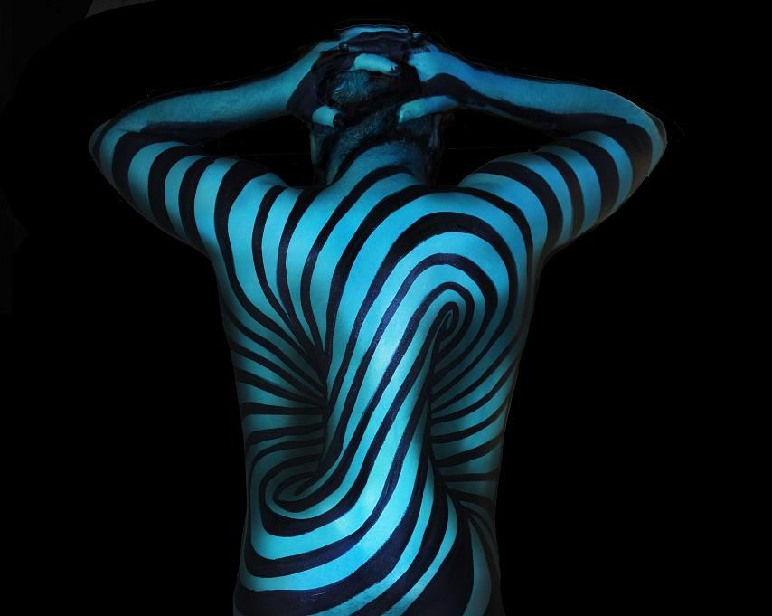 Wonderfully Disorienting 3D Illusion Body Paintings | Sprüche
