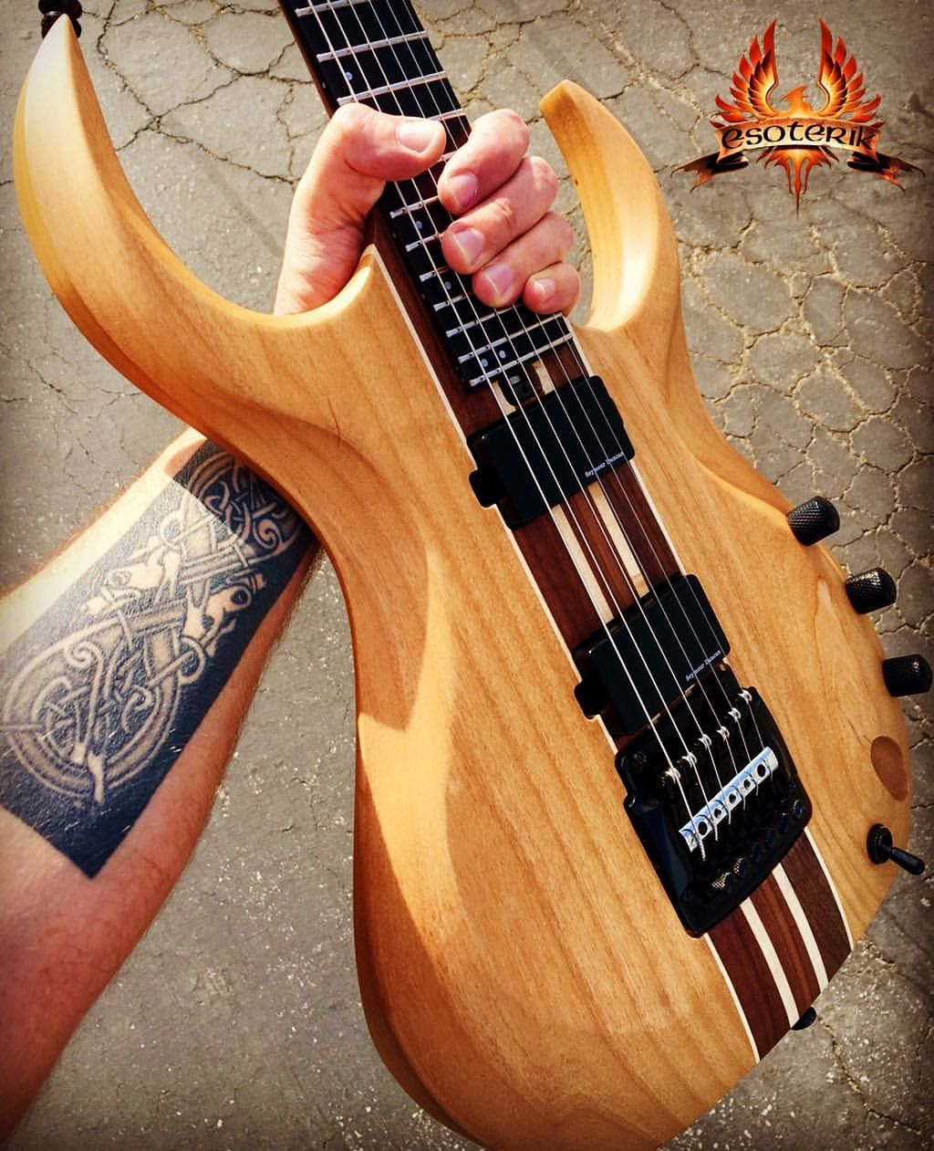 Pow Grab Yourself A Natural Finished Dr3 At Esoterikguitars Com