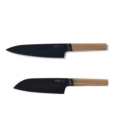 Look what I found on #zulily! Natural Chef & Santoku Knife Set #zulilyfinds