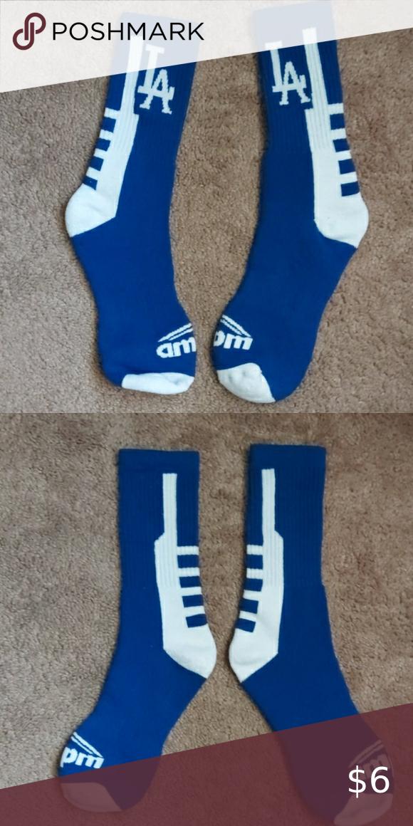 Los Angeles Dodgers Socks In 2020 Casual Socks Socks Dodgers