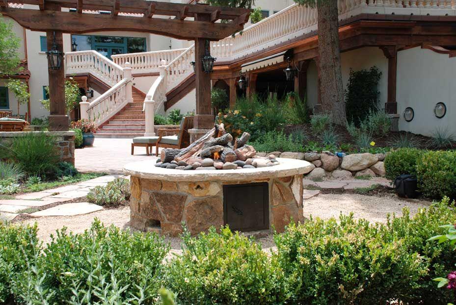 Broadmoor Hotel in Colorado Springs, CO, landscape design ...