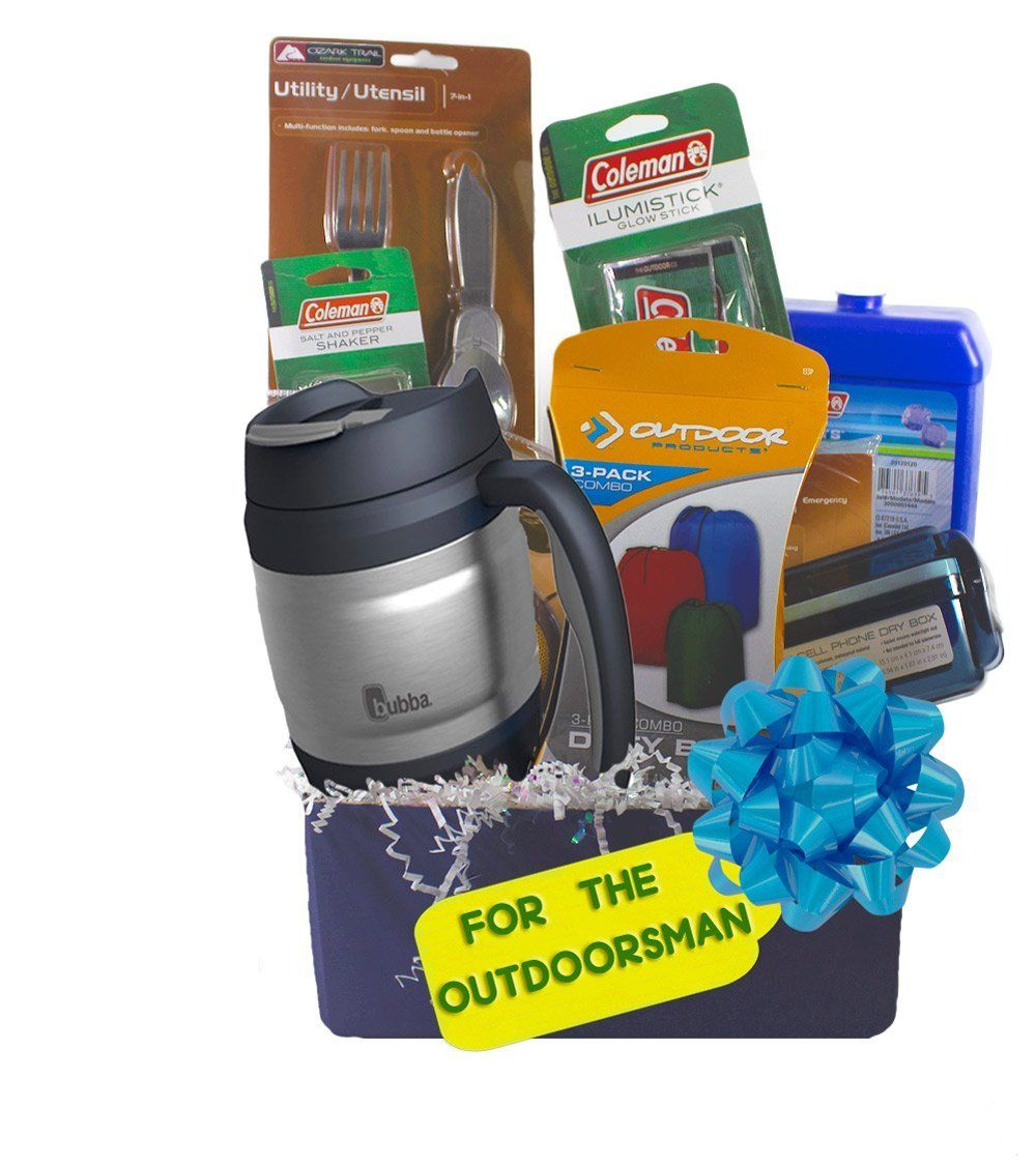 """Gifts for Him, """"Guy Stuff"""" Gift Basket, 17"""