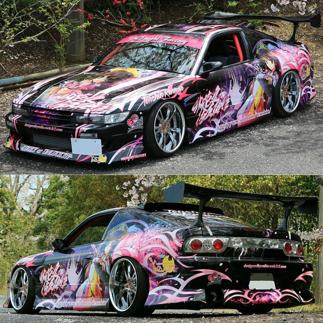Unohana No Sakuyahime ・Tenshin Ranman Lucky Or Unlucky On Nissan Silvia  SilEighty . Like U0026