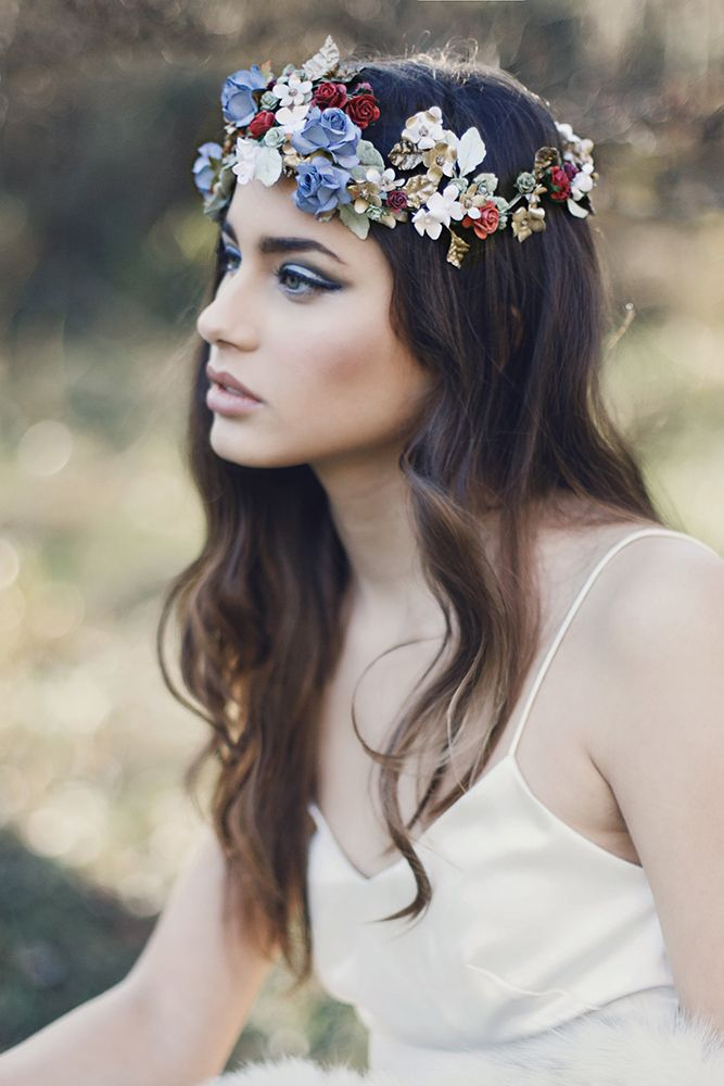 Otaduy Wedding Dresses For A Bohemian Free Spirited Bridal Inspiration Shoot - Otaduy Wedding Dresses For A Bohemian Free Spirited Bridal Inspiration Shoot In Spain With Flower Crowns and An Outdoor Dining Set Up