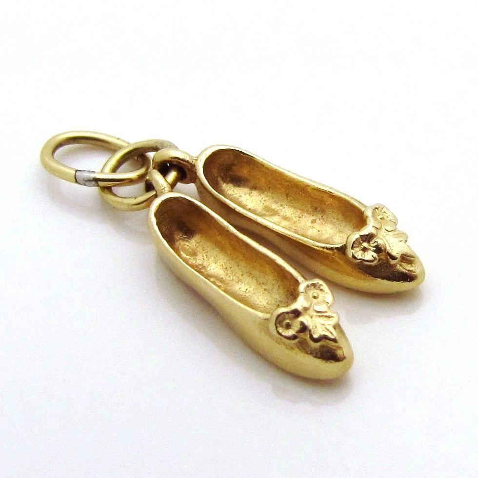 abalorio pandora zapatillas de ballet