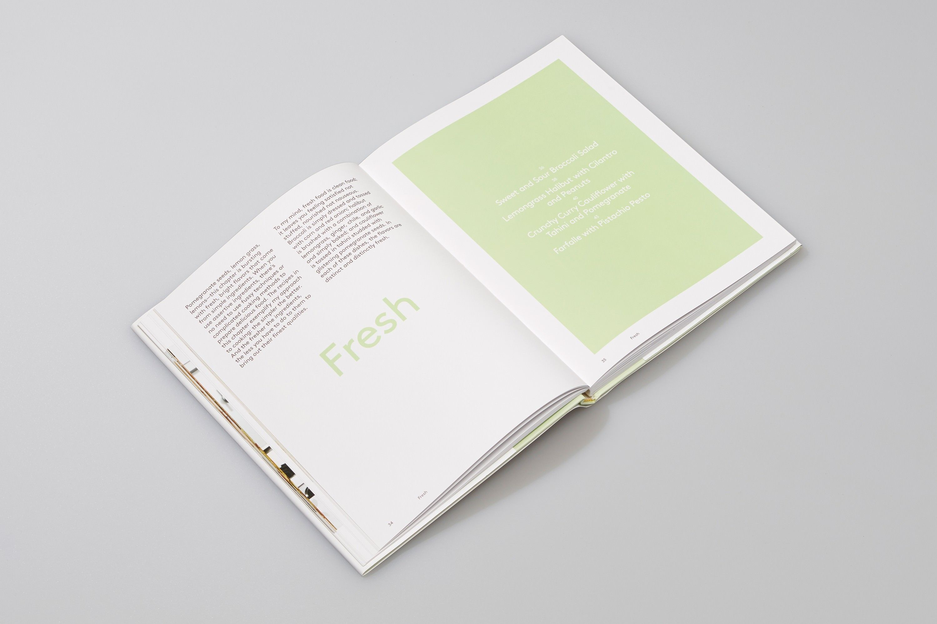 The Modern Menu by Manual Editorial Layout Design