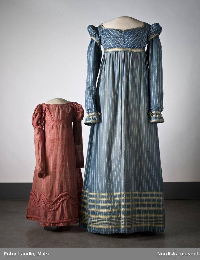 68a612e856 Striped dress c. 1815