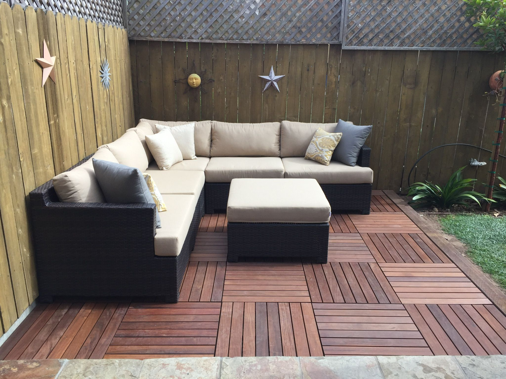 Awesome Deck Wise Tiles Small Yards Outdoor Sectional Outdoor Andrewgaddart Wooden Chair Designs For Living Room Andrewgaddartcom