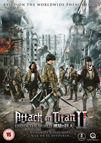 Attack on Titan The Movie Part 2 End of the World [D