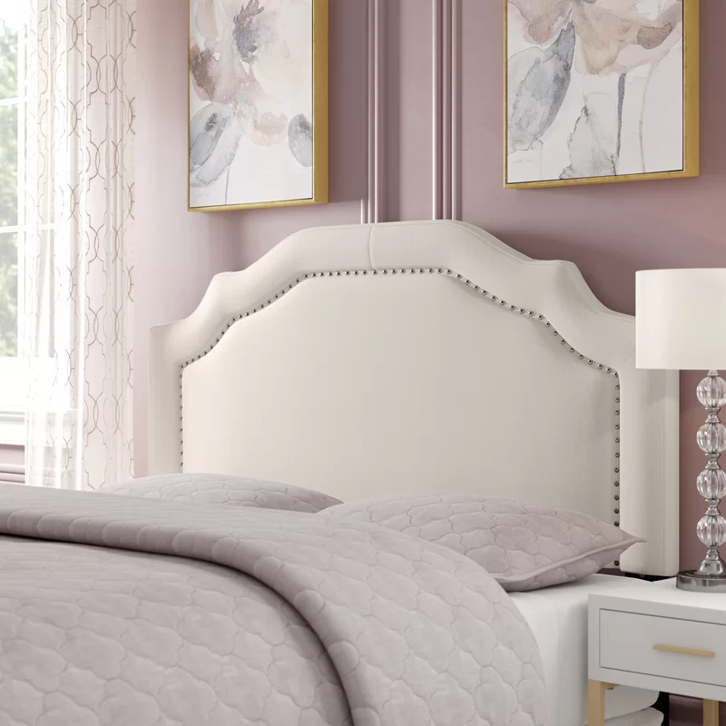 Aulay Upholstered Panel Headboard in 2020 Panel