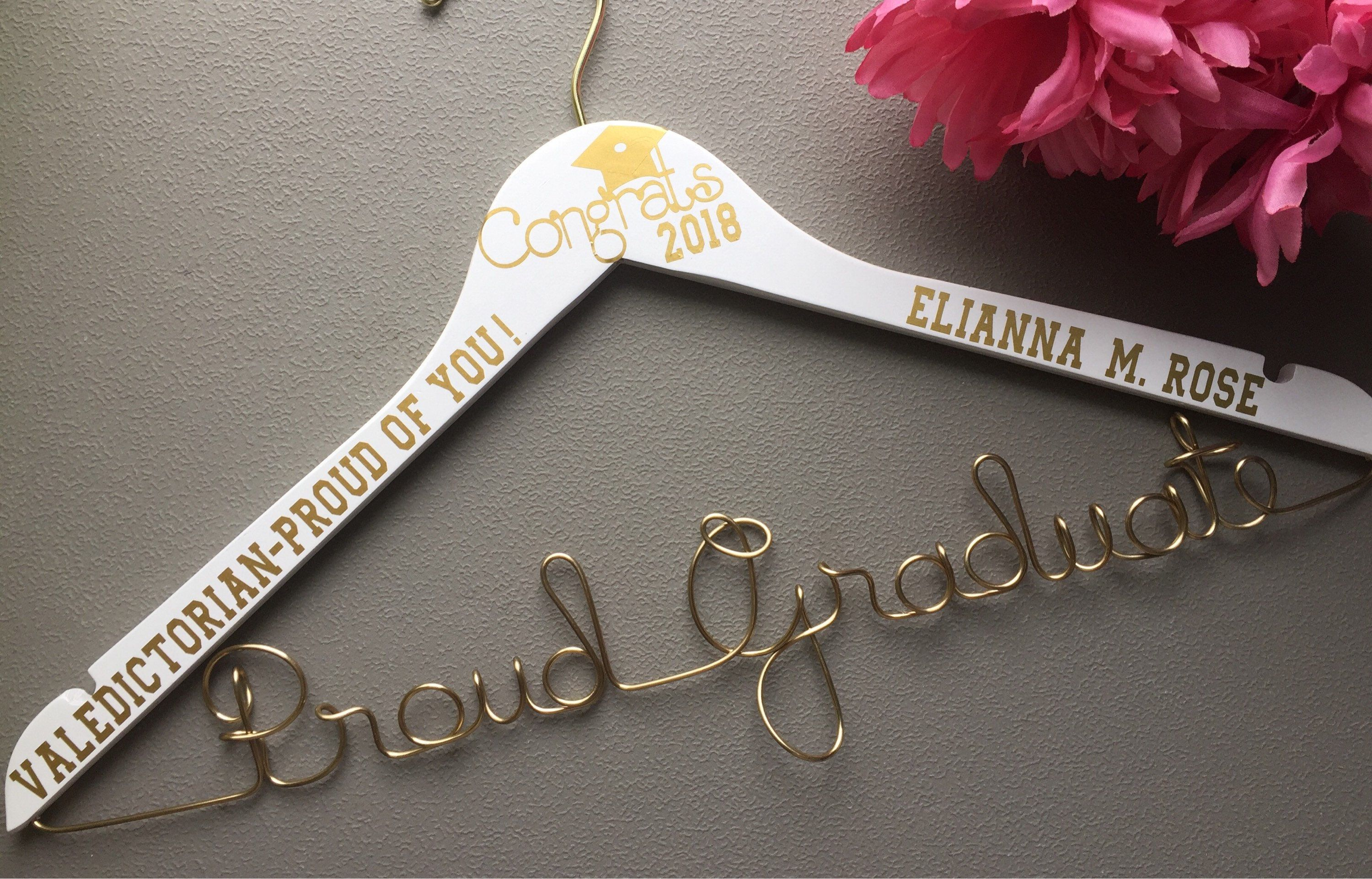 personalized high school hanger for graduationgreat for their robe great gift for the
