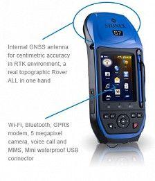 STONEX S7 GPS The new STONEX® S7 series GPS/GNSS receivers combine