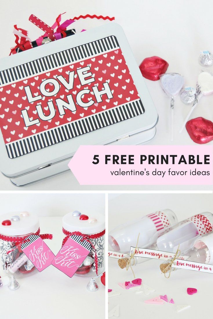 Superior These 5 Free Printable Favor Ideas Are Perfect Gifts For Your Love Or  Friends This Valentineu0027s Day! These Simple Gifts Will Make Anyone Feel  Loved U2026 Images