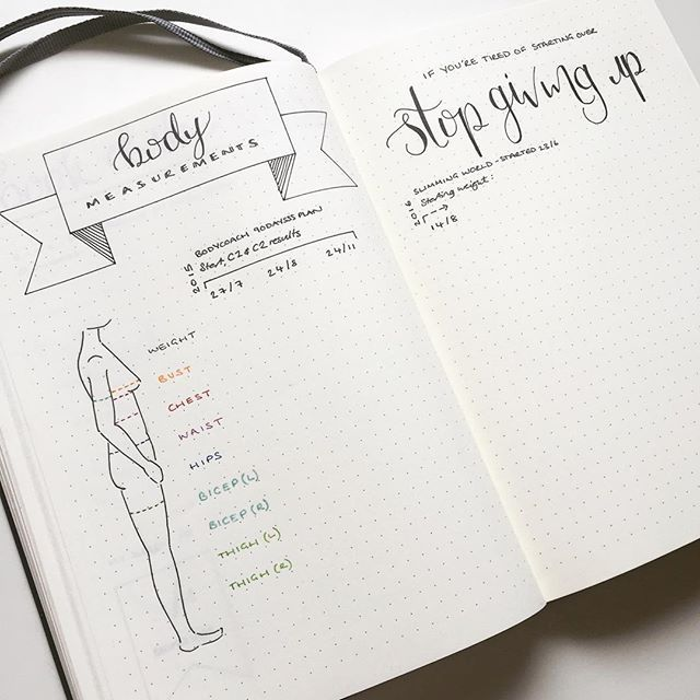 fitness tracker journal