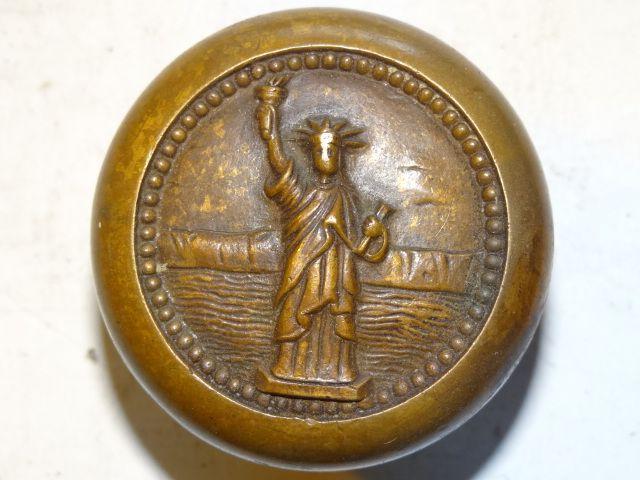Brass Statue of Liberty doorknob   Door Knobs, Knockers, Misc ...