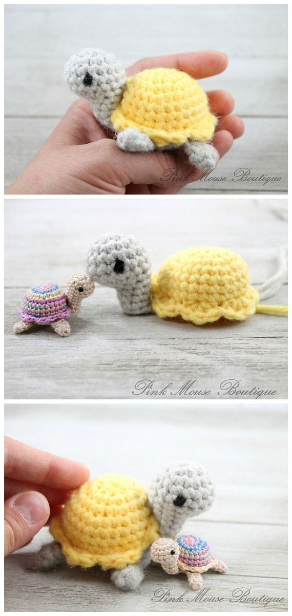 Amigurumi Baby Turtle Crochet Free Patterns