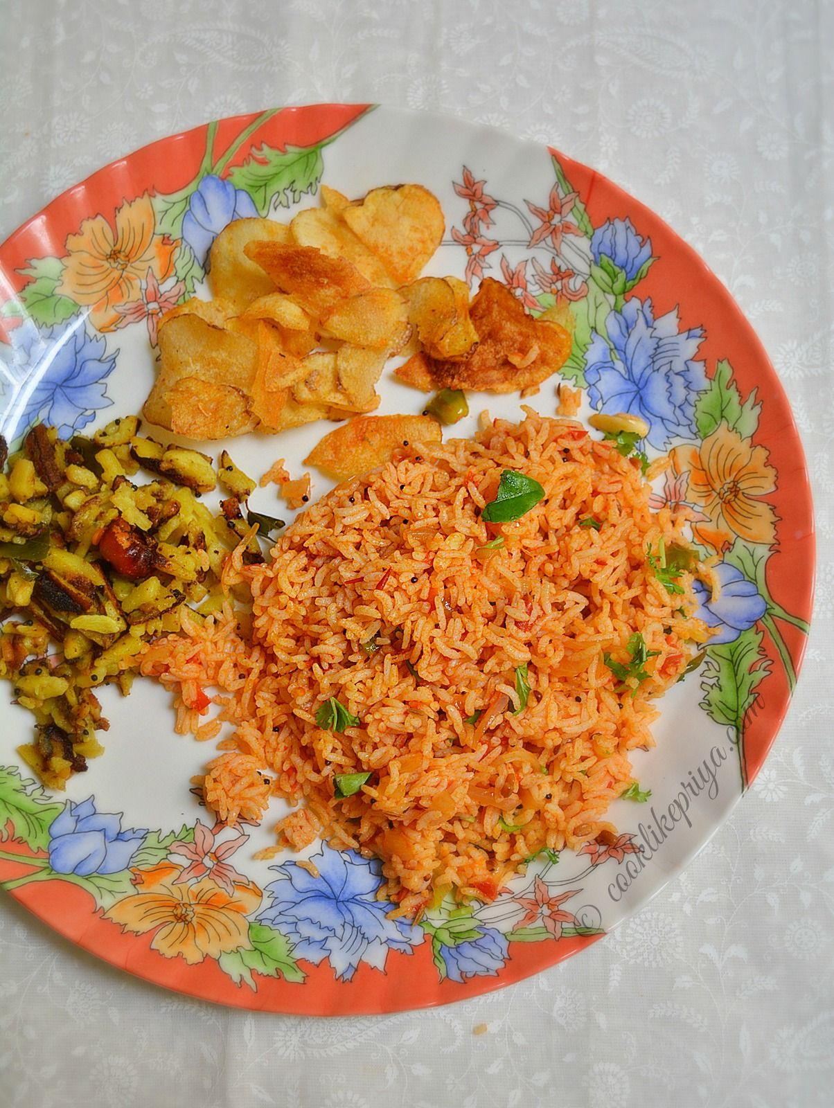 Peas Pulao Recipe Rak S Kitchen