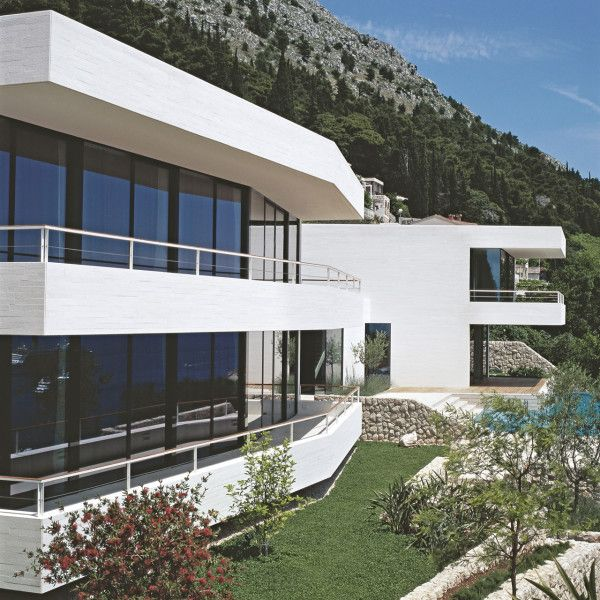 Croatian Paradise Overlooking the Water... this residence nestles itself on the sloped land overlooking the water in the Ploče quarter of Dubrovnik, Croatia.