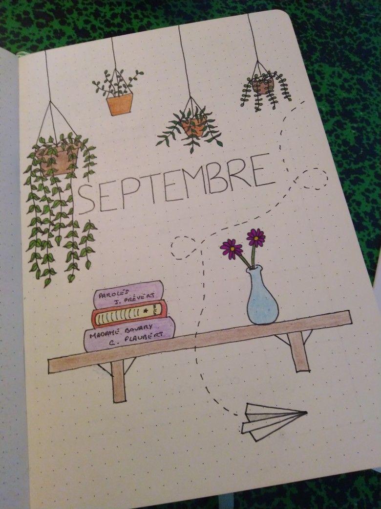 Bullet Journal - Septembre