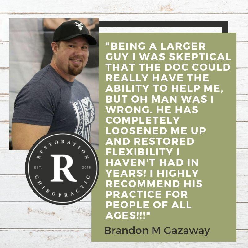 Glad we could help, Brandon! Chiropractor