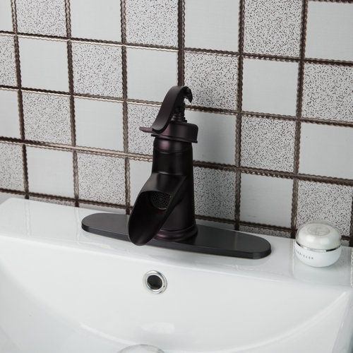 Shivers Spoon Classic Oil Rubbed Bronze Bathroom Sink Waterfall