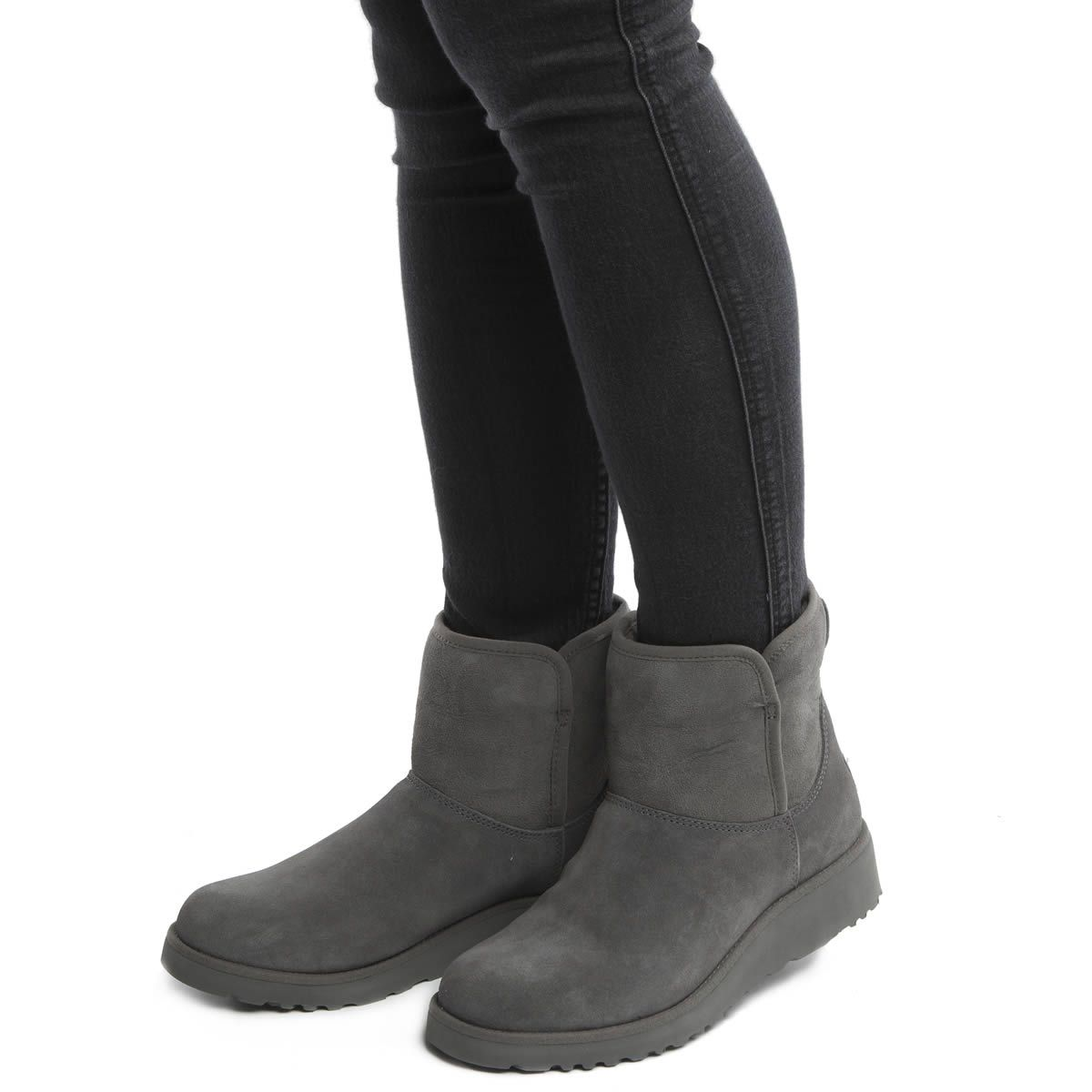 womens ugg australia grey kristin boots shoes ugg