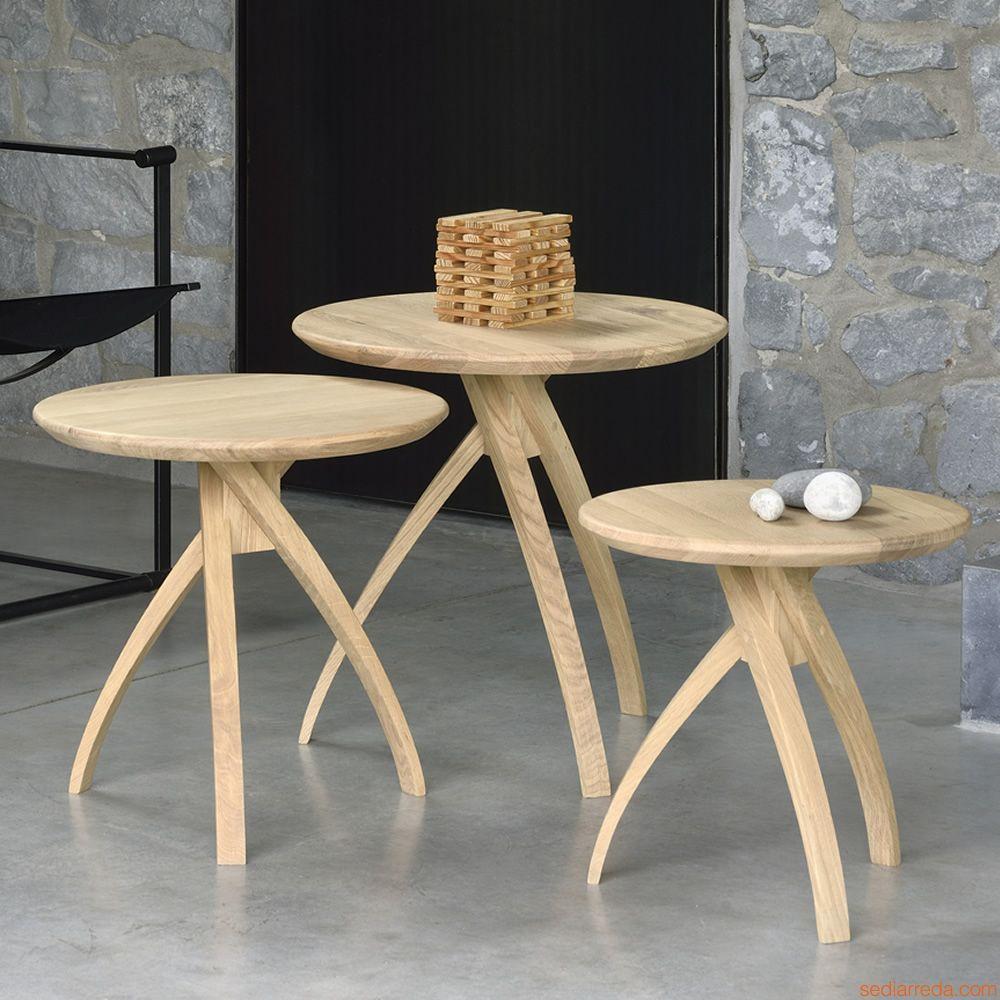 Risultati immagini per tavolino piccolo rotondo legno