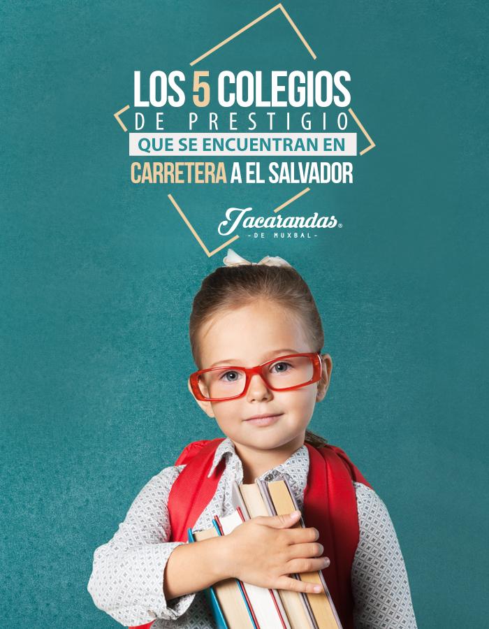 Mira estos 5 colegios de prestigio que se encuentran en Carretera a El Salvador, Guatemala.