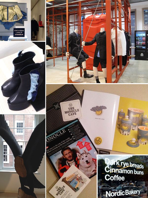 A new consumer: young, aware and conversant.  Acne Studios + Dover Street Market + Monocle + Nordic Bakery + Fornasetti design