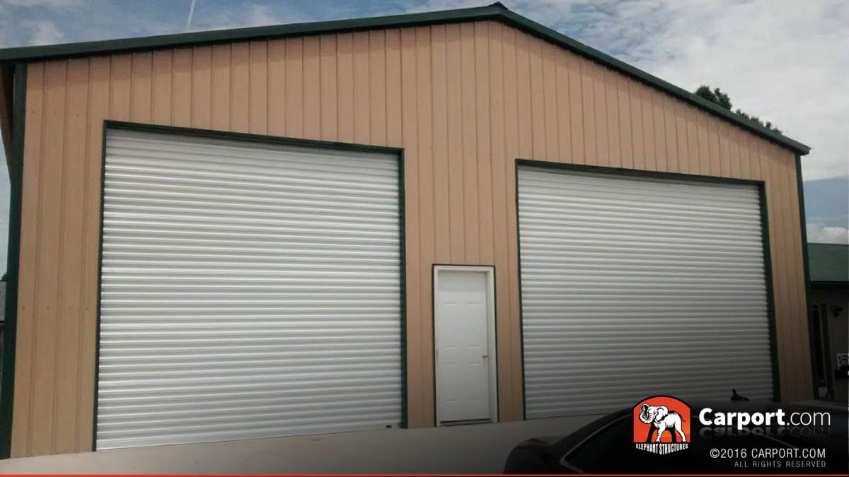 Three Car Garage at 30' Wide x 31' Long x 11' High