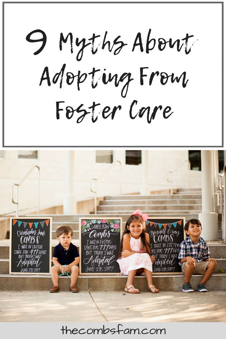 9 myths about adopting from foster care. - let's be brave.