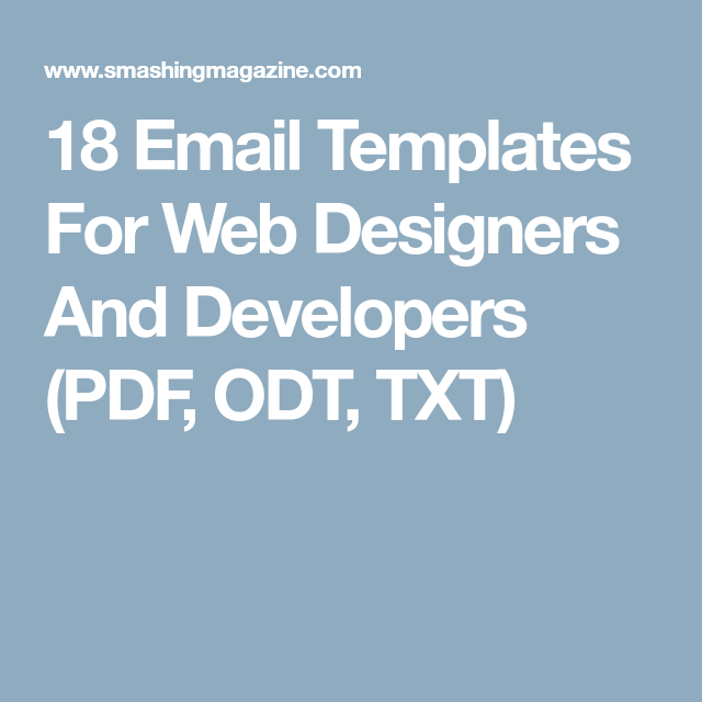 odt templates