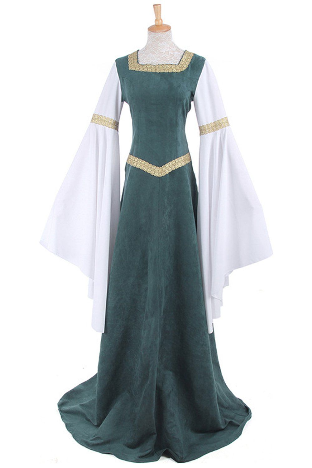 Women Medieval Retro Long Dress Victorian European Court Costumes Halloween Party Fancy Dress You Could Get Addi Queen Dress Cosplay Dress Party Gown Dress [ 1500 x 1001 Pixel ]