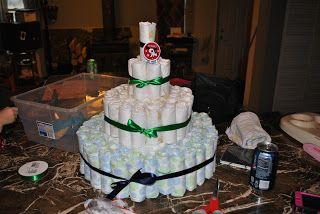 Ladybug Inspirations: DIY diaper cake