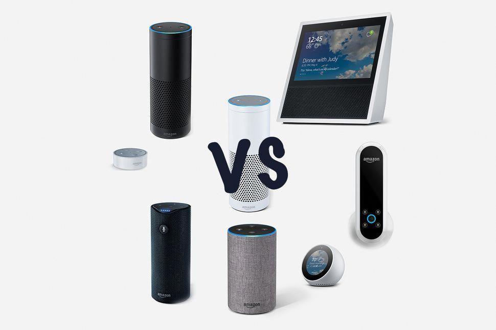 Amazon Echo Vs Echo Plus Vs Echo Tap Vs Echo Dot Vs Echo Show Vs Echo Spot What S The Difference Amazon Alexa Compatible Devices Alexa Home Amazon Alexa