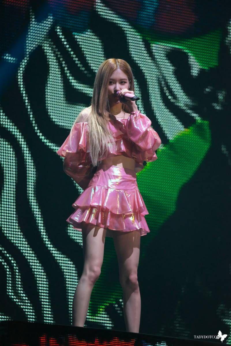 181110 181111 Blackpink In Your Area Seoul Concert Rose