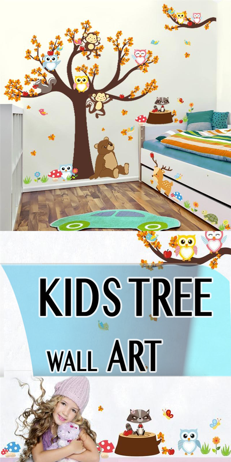 Wall Stickers For Kids Rooms | Childrens bedrooms | Wall, Wall ...