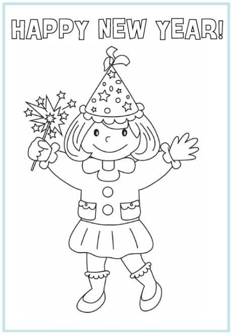Happy New Year! | Nieuwjaar | Pinterest - Nochevieja, Niños en ...