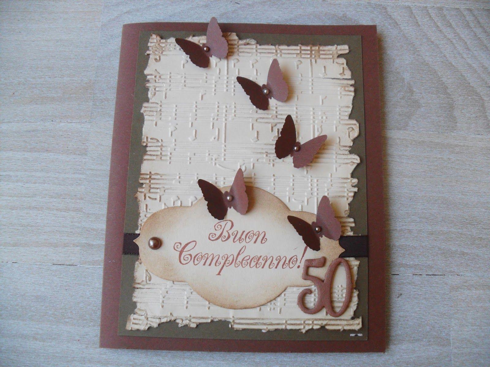 fairyscrappina: CARD 50 ANNI  Questo è l'anno dei compleanni dei 5...