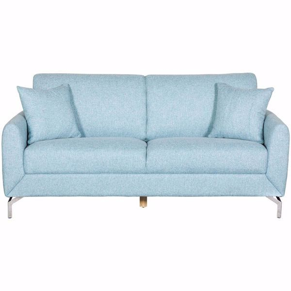 Mia Blue Sofa Blue Sofa Light Blue Couches Light Blue Sofa